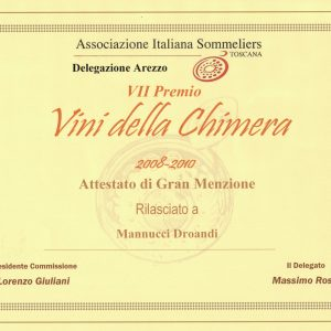 ASSOCIAZIONE ITALIANA SOMMELIERS TOSCANA 2008-2010