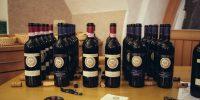 I sei vini in degustazione