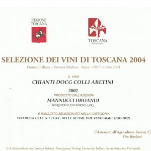 SELEZIONE DEI VINI DI TOSCANA 2004